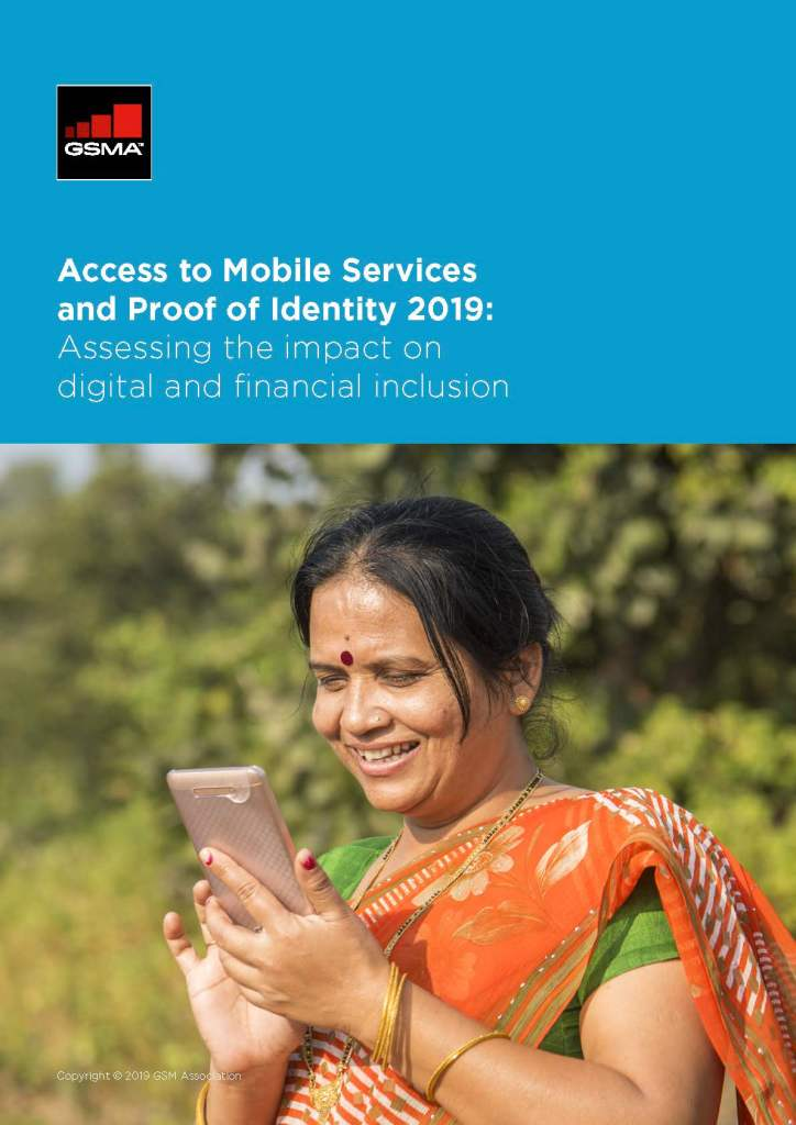 Access to Mobile Services and Proof of Identity image