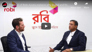 The CCO of Robi Axiata explains why digital and financial inclusion of women is important