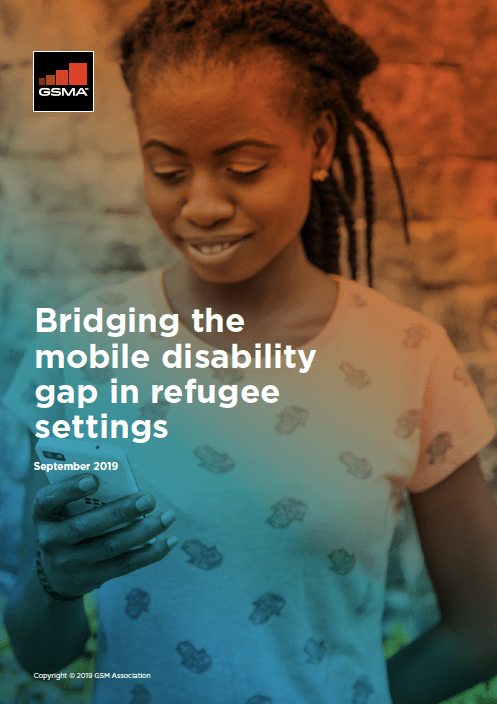 Bridging the mobile disability gap in refugee settings image