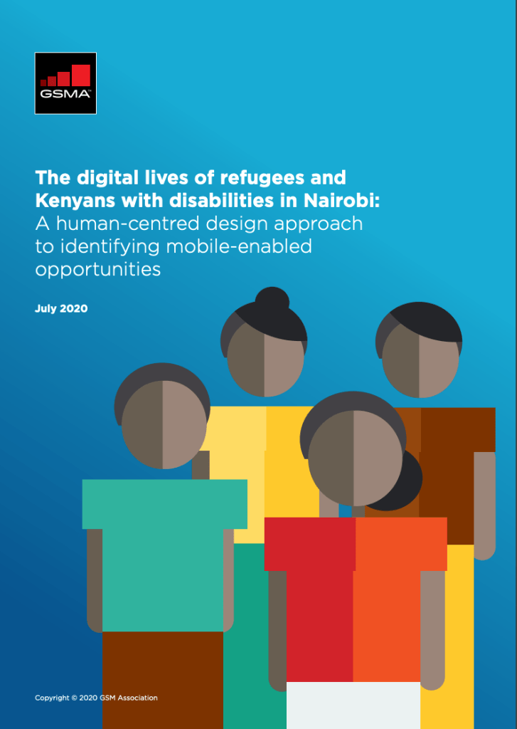 The digital lives of refugees and Kenyans with disabilities in Nairobi: A human-centred design approach to identifying mobile-enabled opportunities image