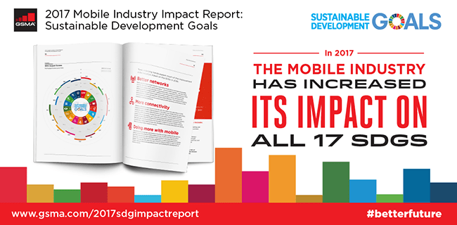 New GSMA Report Highlights Mobile Industry Progress in Achieving the Sustainable Development Goals