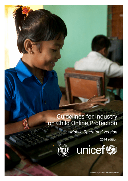 Guidelines for Industry on Child Online Protection: Mobile Operators' Version image