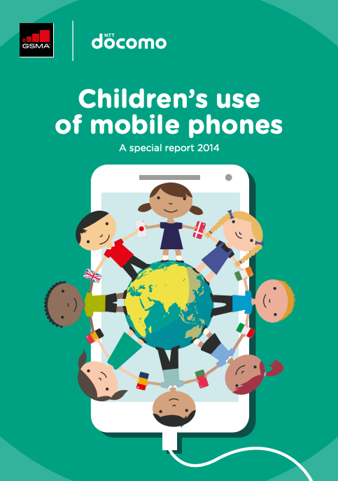 Children's use of mobile phones: A special report 2014 image