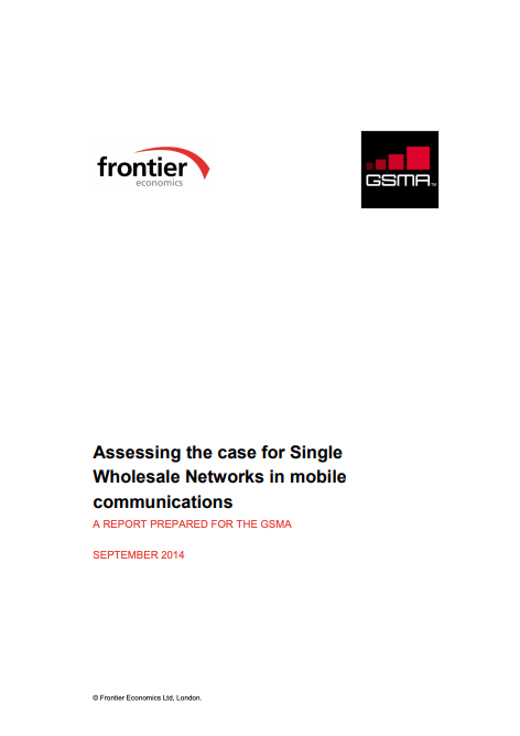 Assessing the case for Single Wholesale Networks in mobile communications image