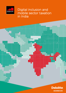 Digital inclusion and mobile sector taxation in India 2015 image