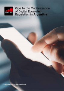 Keys to the modernisation of digital ecosystem regulation in Argentina image