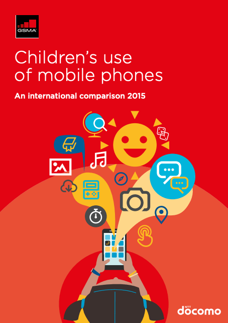 Children's use of mobile phones – An international comparison 2015 image