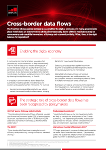 Cross-Border Data Flows Enable the Digital Economy: An overview image