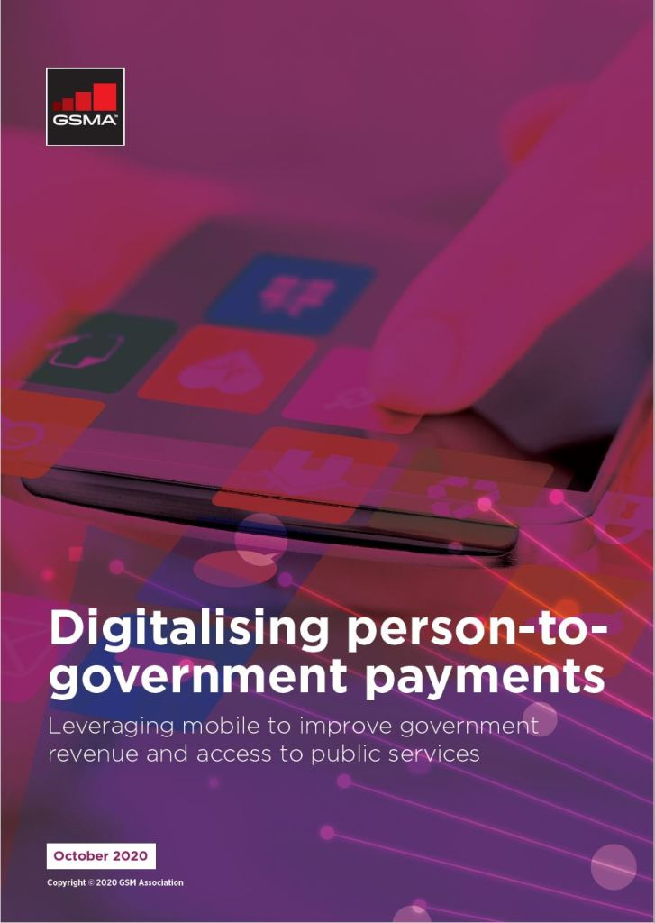 Digitalising person-to-government payments image