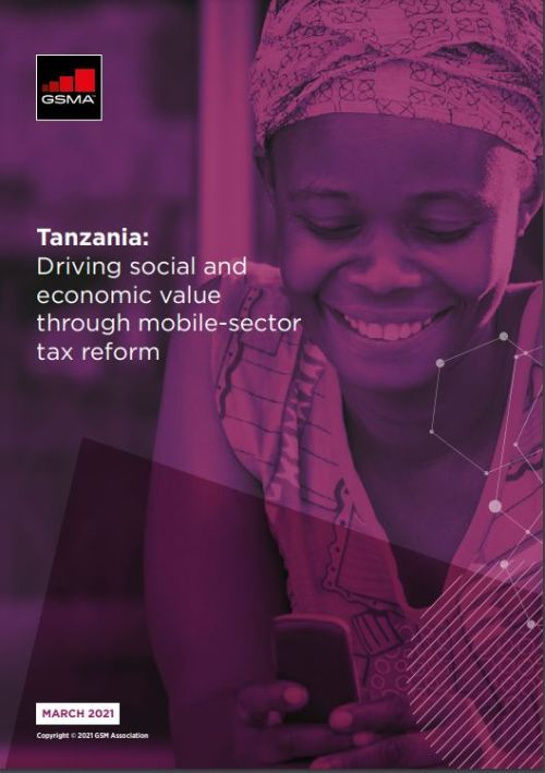 Tanzania: Driving social and economic value through mobile-sector tax reform 2021 image