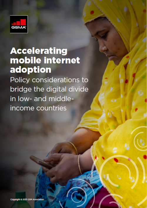 Accelerating mobile internet adoption: Policy considerations to bridge the digital divide in low- and middle-income countries image