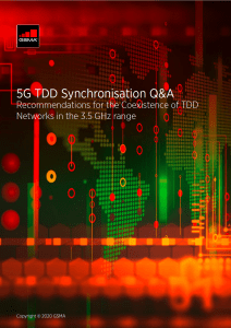 TDD synchronisation in the 3.5 GHz range – a key step for 5G success image