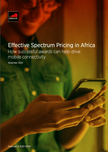 Spectrum pricing in Africa –  successful awards drive mobile connectivity image
