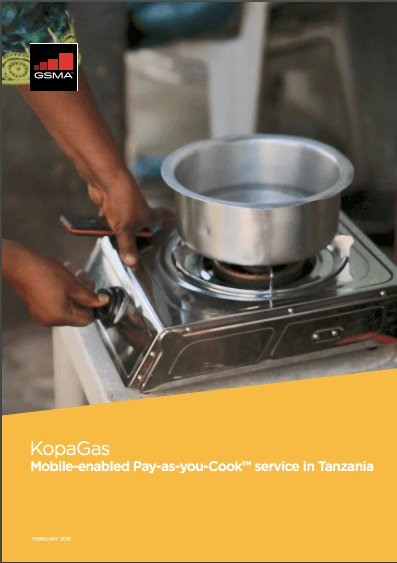 KopaGas: Mobile-enabled Pay-as-you-Cook service in Tanzania image