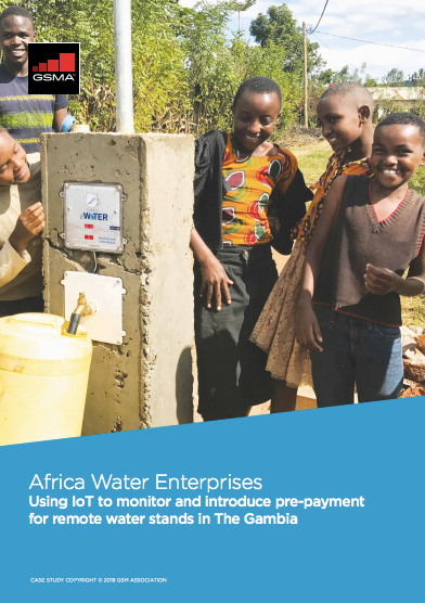 Africa Water Enterprises: Using IoT to monitor and introduce pre-payment for remote water stands in The Gambia image