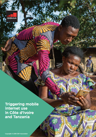 Triggering mobile internet use in Côte d'Ivoire and Tanzania image