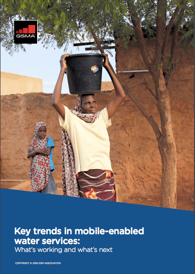 Key trends in mobile-enabled water services: What's working and what's next image