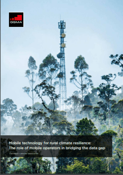 Mobile technology for rural climate resilience: The role of mobile operators in bridging the data gap image