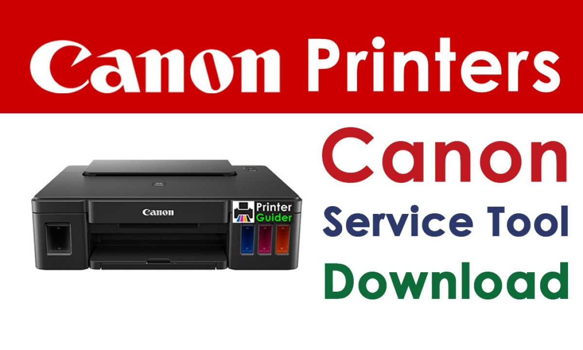 Canon Service Tool V3400 Resetter Free Download 2021