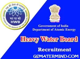 HWB Heavy Water Board, HWB  Heavy Water Board Recruitments 2020: Apply for 185 Posts, GS Master mind | Download free pdf books for govt jobs in hindi, GS Master mind | Download free pdf books for govt jobs in hindi