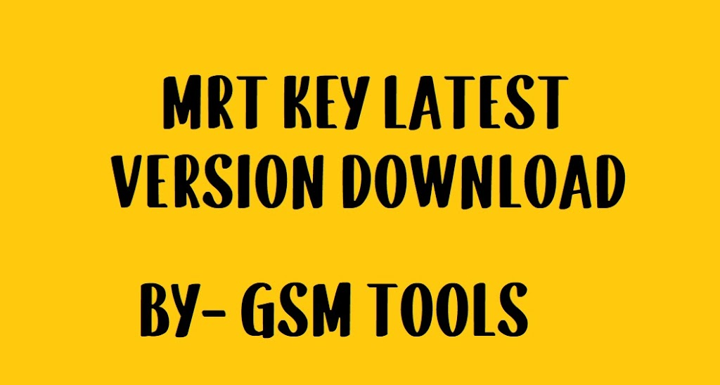 Mrt Key Latest Setup v3.36 | MRT Key Update Free Download