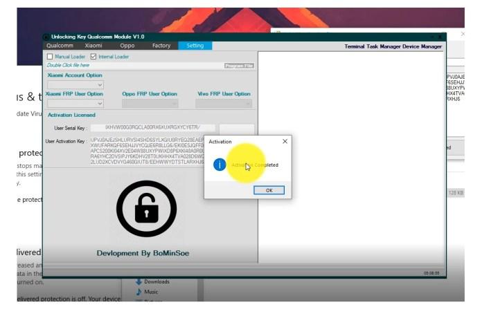 Qualcomm Unlock Tool - FRP/ Pattern Unlock Tool for all Qualcomm