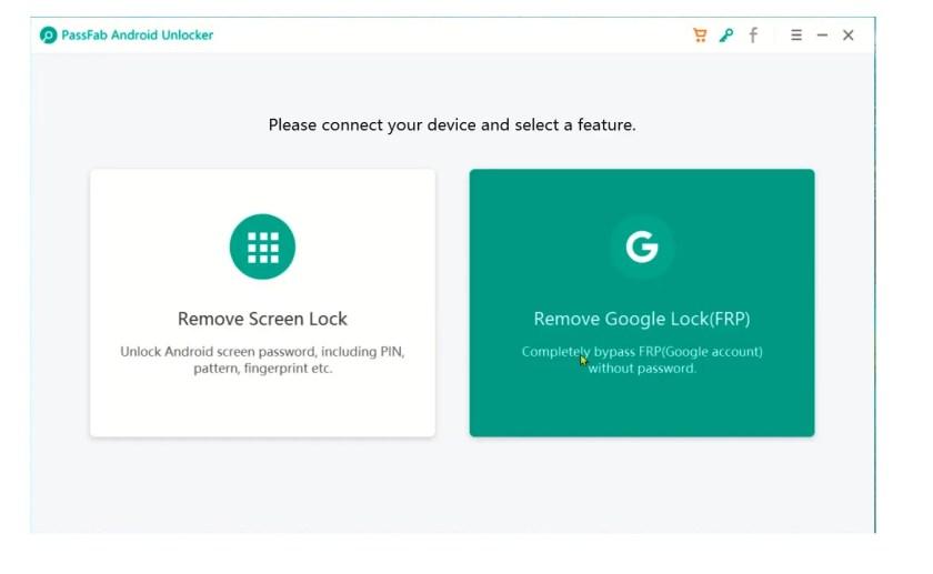 FRP Unlock Tool (Passsfab Android Unlocker Tool)
