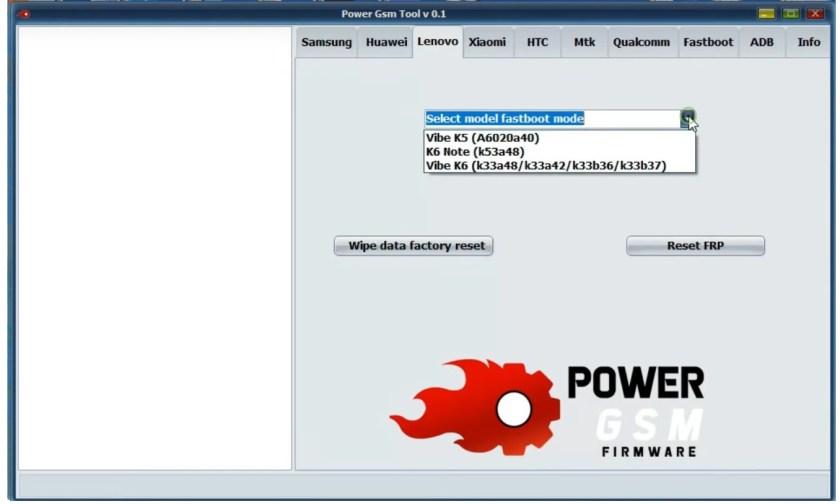 Power GSM FRP Tool