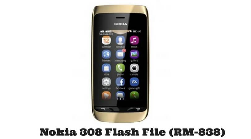 Nokia 308 Flash File