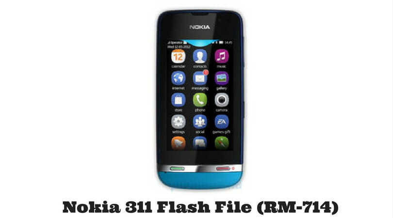 Nokia 311 Flash File