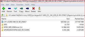 latest lf2402 flash file