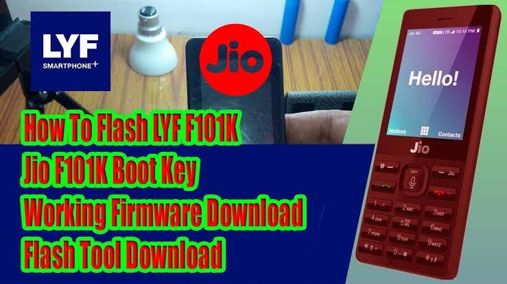 F101K Jiophone Flash Tools