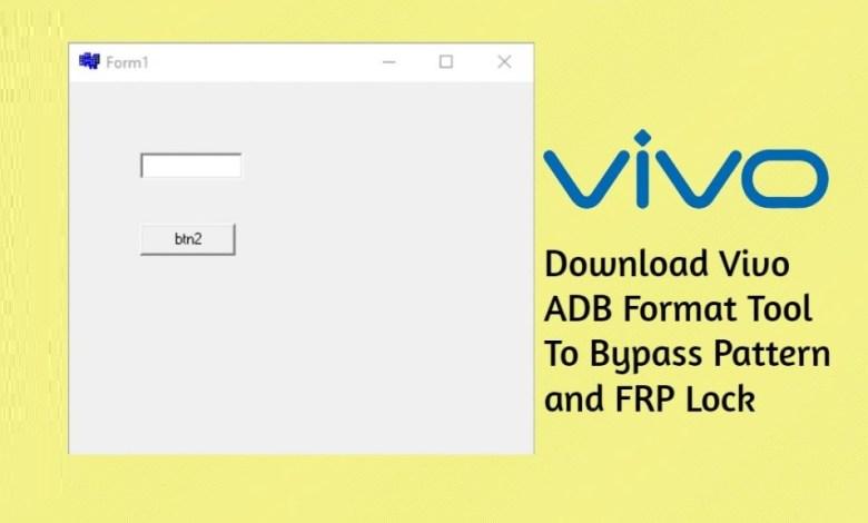 VIVO ADB Format Tool Latest Update -2020 Free Download 1