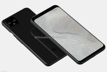 Google Pixel 4/fot. OnLeaks via SlashLeaks