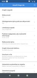 Mi Fit ustawienia Amazfit Verge Lite (3) / fot. techManiaK