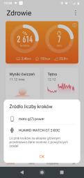 Huawei Zdrowie: krokomierz (1)