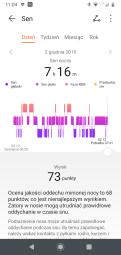 Huawei Zdrowie: analiza snu (1) i wychwytywanie problemów