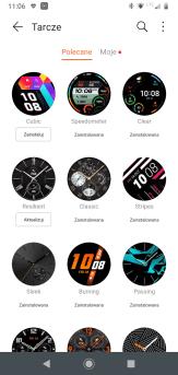 Huawei Zdrowie: zegarek i tarcze (2)