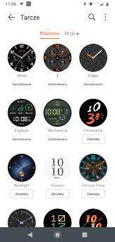 Huawei Zdrowie: zegarek i tarcze (3)