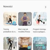 Samsung Health plany, treningi, informacje (3)