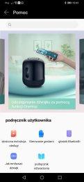 Huawei AI Life: sekcja pomocy (1)