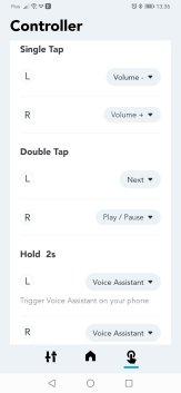 Soundcore: opcje sterowania (2)