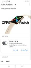 Aplikacja Wear OS przykładowe ekrany (1)