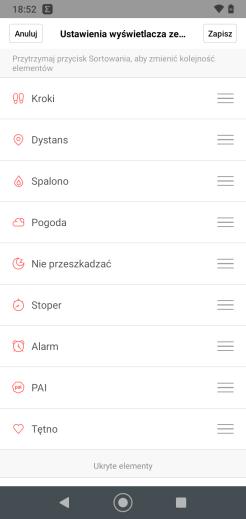 Amazfit Neo: ustawienia w aplikacji Zepp (5)