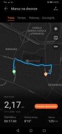 Huawei Watch Fit zapis śladu GPS (1)