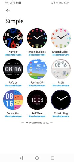Xiaomi Wear: tarcze (6)