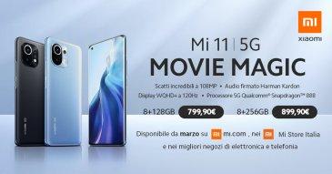 Cena Xiaomi Mi 11 podana przez włoski oddział