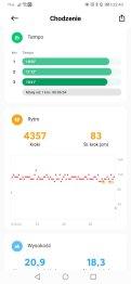 Xiaomi Mi Watch rezultaty marszu (3)