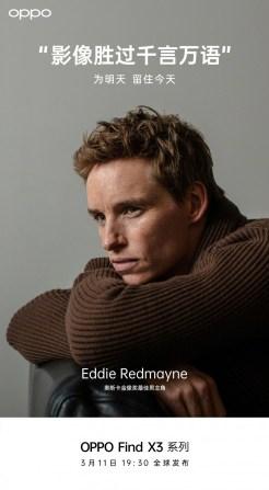 eddie redmayne oppo