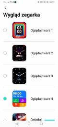 Tarcze zegarka w aplikacji (1)
